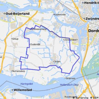 Mijnsheerenland - Strijen