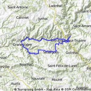 Conques - Lot Rundtour