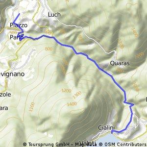 Talwanderung-Scalco-See