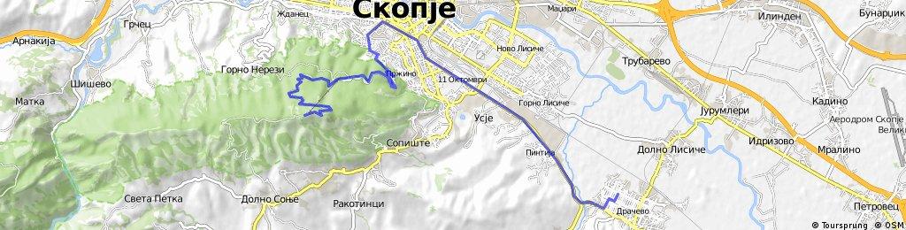 Dracevo-Krst na Vodno