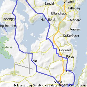 SandnesBrynelgrdFiggjoSandnes Bikemap Your bike routes