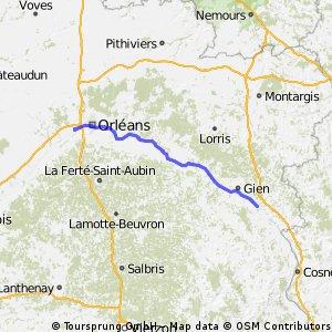 Orléans (La Chapelle St Mesmin) - Briare