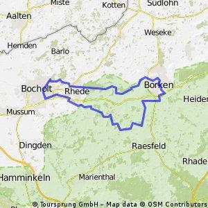Stadt, Land, Fluß im Westmünsterland