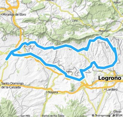 Camping-Briones- Fenmayor- Oion-Labraza- Meano-Laguardia- Labastida-Haro