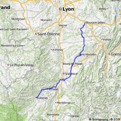 Route Tour de France 2009, Etappe 19 - 178,0 km