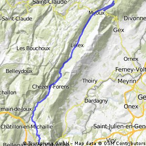 Bellegarde-La Faucille