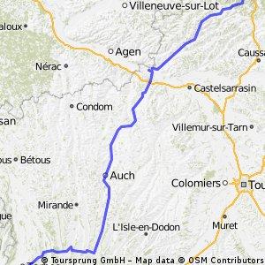 tdf. Cahors - Tarbes