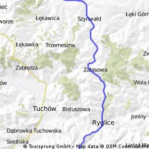 Brzanka - Skrzyszów