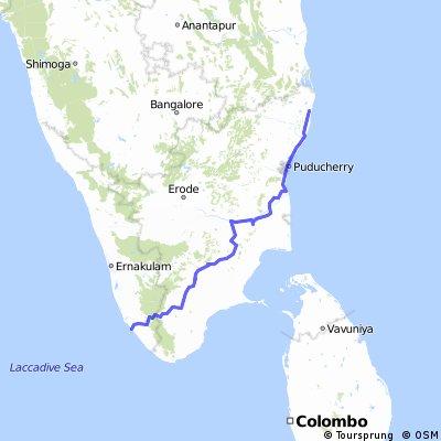 Tamil Nadu - Kerala