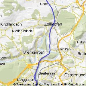 Bern - Tiefenau - Zollikofen - Münchenbuchsee