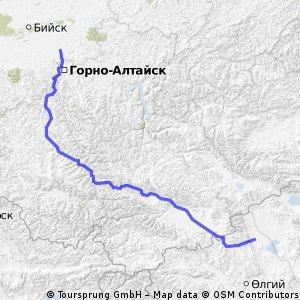 600 km munti