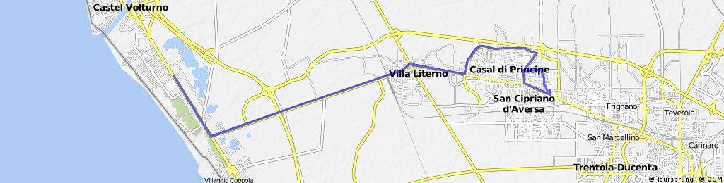 Villa di Briano-Baia Verde-Villa di Briano