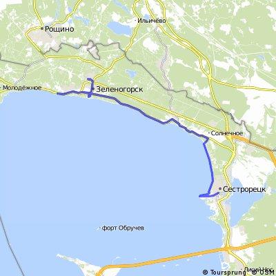 Сестрорецк - Зеленогорск (солнечно!)