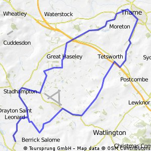 Warborough-Thame Short Loop