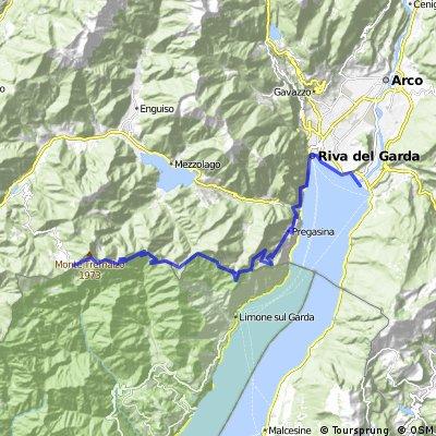Tremalzo - Torbole, basic route down