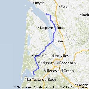 20. Mortagne-sur-Gironde - Audenge