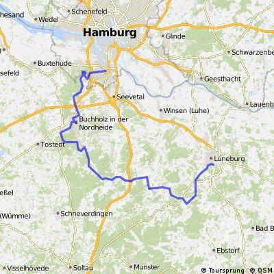 Radfahren Harburger Berge