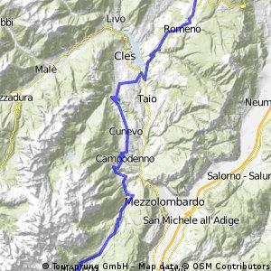 Tour de Dolomity 2013 - Stage 2