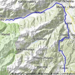 Tour de Dolomity 2013 - Stage 3