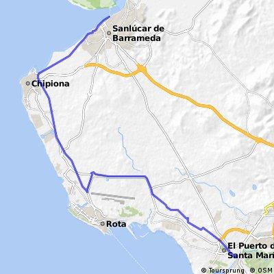 TA Cadiz 1 - Sanlúcar de Barrameda - El Puerto de Santa María