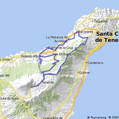 Pto de la Cruz- Teide- Pto de la Cruz