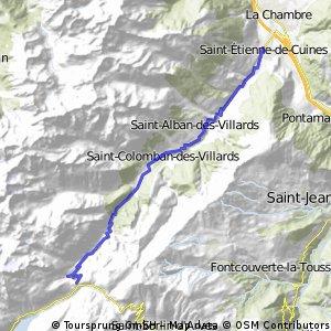 Le col du Glandon en tandem depuis Saint-Etienne-de-Cuines