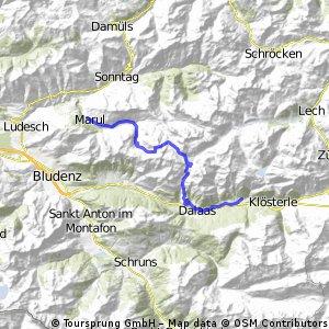 Alpencross 2013 - Tag 1 - 02.09.2013