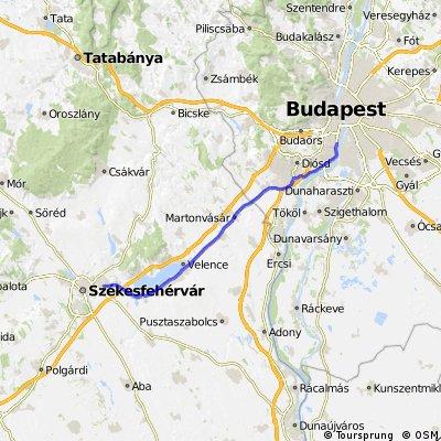 Székesfehérvár - Gárdony - Budapest