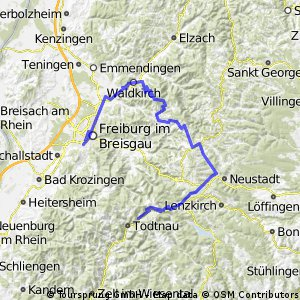 Schwarzwaldhochtour Kandel - Feldberg - Belchen