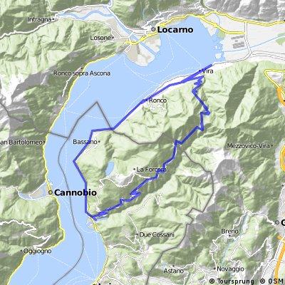 Piazzogna -Indemini - Lago Delio - Piazzogna (LAGO OSTUFER)