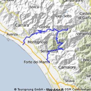 Pietrasanta - Isola Santa - Massa
