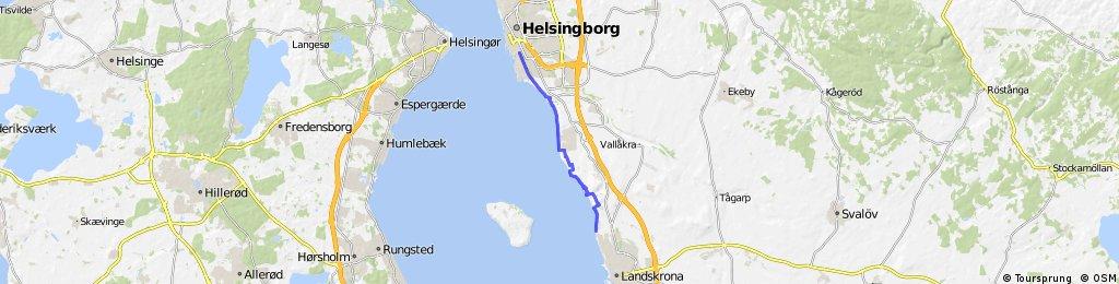 Skane, day 6, Landskrona - Helsingborg