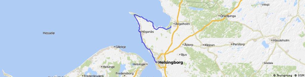 Skane, day 1, Helsingborg  - Ängelholm