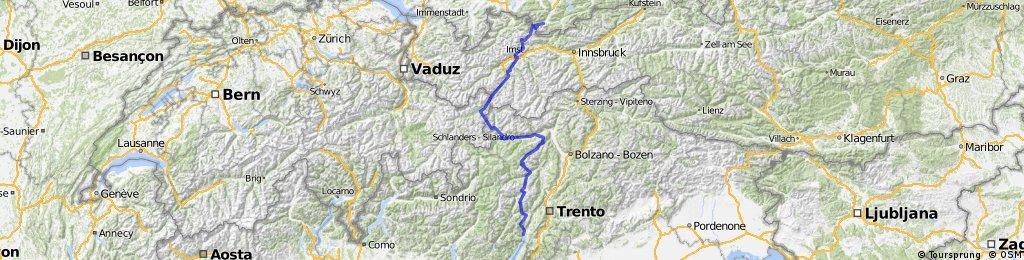 ALPENCROSS Garmisch->Riva