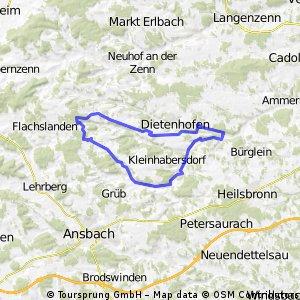 Weihenzell Rundweg 1