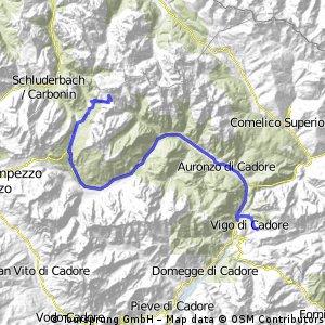 2013-09-03: Tre Cime - Laggio
