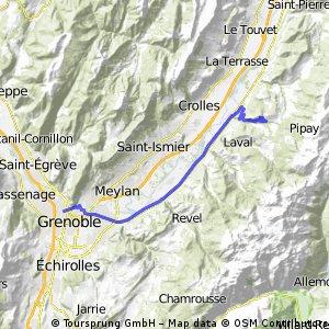 Grenoble adrets
