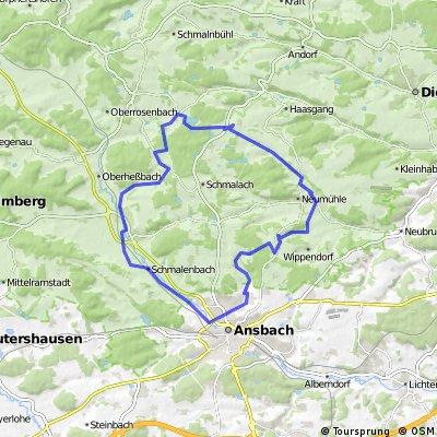 Weihenzell Rundweg 2