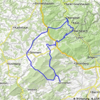 Argenschwang-Ellern-Rheinböllen-Bacharach-Henschausen-Oberwesel-Wiebelsheim-Simmern-Tiefenbach-Struhof-Argenschwang