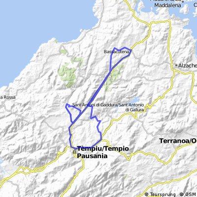 RR - Bassacutena - Tempio - Luras