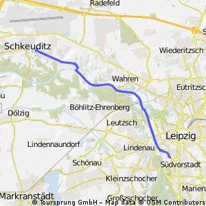 Helios Klinik Schkeuditz by bike