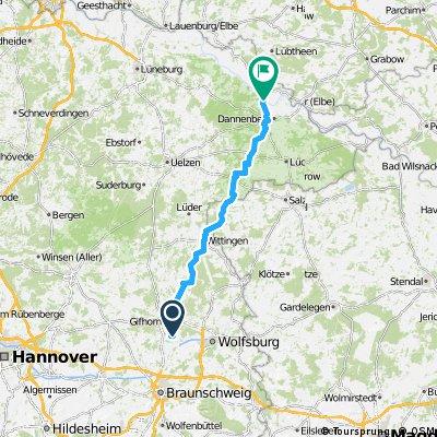 Isenbüttel - Hitzacker I RR (neu)