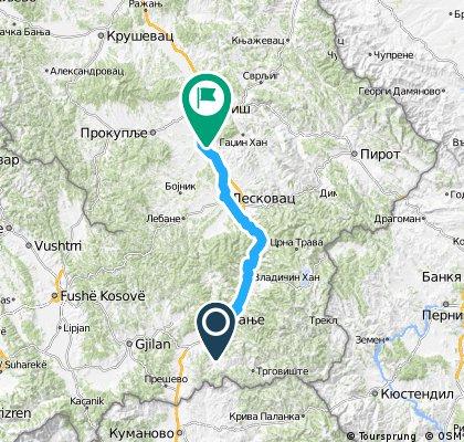xU2-R - Day 2: Kupinince, Vranje - Niš