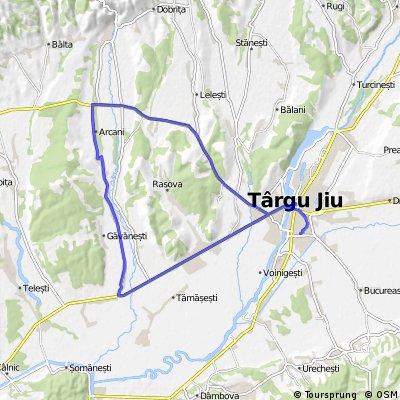Tg-Jiu - Arcani - Campofeni - Cornesti - Tg-Jiu