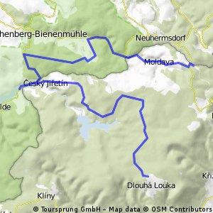 Sobotni cykloCHZvylet z Moldavy