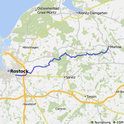 Tour der Steine Rostock-Marlow