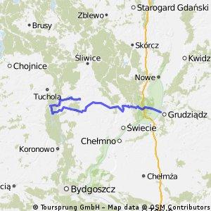 Wierzchucin - Piła  - Grudziądz