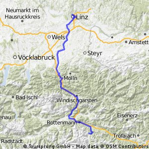 Alpes-Autumn-CC -- Trieben - Linz 142km REC-Stage