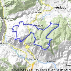 Monte Cengio & Kaberlaba