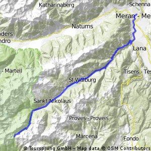 Meran - Haselgruber Hütte